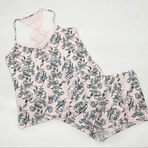 Jessica Simpson Medium Floral Sleep Set